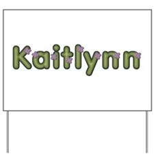 Kaitlynn Spring Green Yard Sign