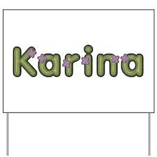 Karina Spring Green Yard Sign