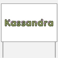 Kassandra Spring Green Yard Sign