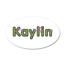 Kaylin Spring Green 35x21 Oval Wall Decal