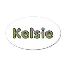 Kelsie Spring Green Wall Decal