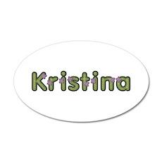 Kristina Spring Green Wall Decal