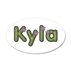 Kyla Spring Green Wall Decal