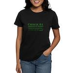 Dark Check 21 Doesn't Stop Te Women's Dark T-Shirt