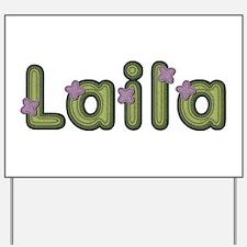 Laila Spring Green Yard Sign