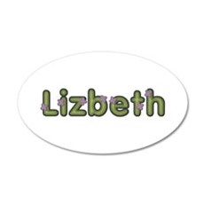 Lizbeth Spring Green Wall Decal