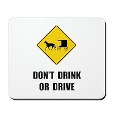 Amish Drink Drive Mousepad