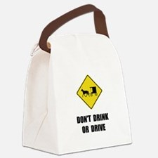Amish Drink Drive Canvas Lunch Bag