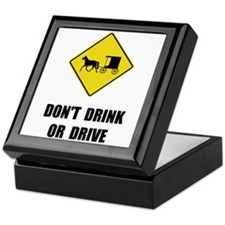 Amish Drink Drive Keepsake Box
