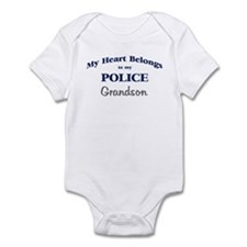 Police Heart: Grandson Infant Bodysuit