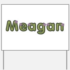 Meagan Spring Green Yard Sign