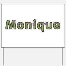 Monique Spring Green Yard Sign