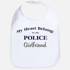 Police Heart: Girlfriend Bib