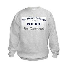 Police Heart: Ex-Girlfriend Sweatshirt