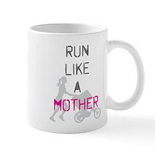 Run Like A Mother (Magenta) Mug