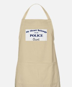 Police Heart: Aunt BBQ Apron