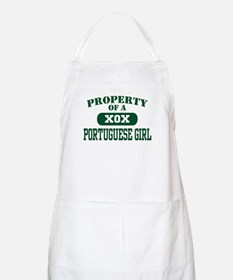 Property of a Portuguese Girl BBQ Apron