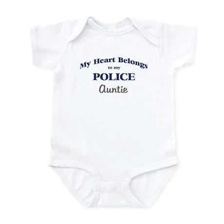Police Heart: Auntie Infant Bodysuit