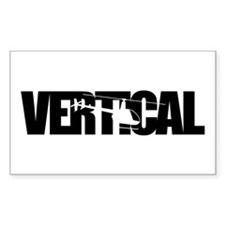 Vertical Black R22 Rectangle Decal