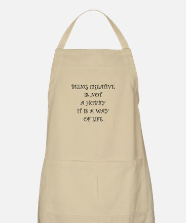 Being Creative Apron
