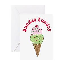 Sundae Funday Greeting Card