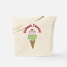 Sundae Funday Tote Bag