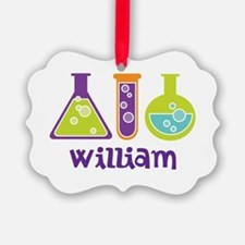 Personalized Scientist Ornament