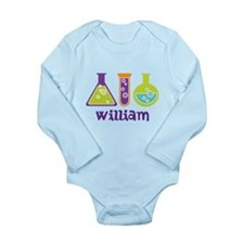 Personalized Scientist Baby Suit