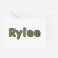Rylee Spring Green Greeting Card