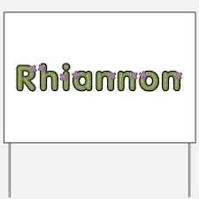 Rhiannon Spring Green Yard Sign