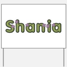 Shania Spring Green Yard Sign