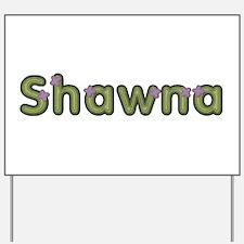 Shawna Spring Green Yard Sign