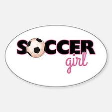 Soccer Girl Decal