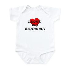 I LOVE GRANDMA Infant Bodysuit