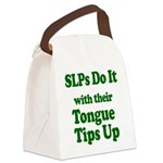 SLPs Do It Canvas Lunch Bag