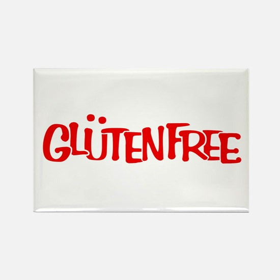 Gluten-Free Solidarity Rectangle Magnet