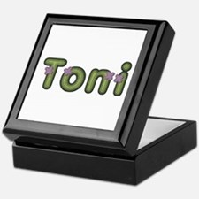 Toni Spring Green Keepsake Box