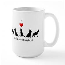 I love my German Shepherd Dog Mug
