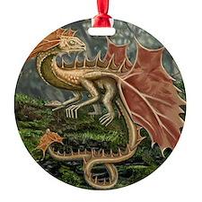 Autumn Leaf Dragon Ornament