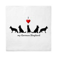 I love my German Shepherd Dog Queen Duvet
