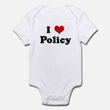 I Love Policy Infant Bodysuit