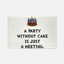 Cake Meeting Rectangle Magnet (10 pack)