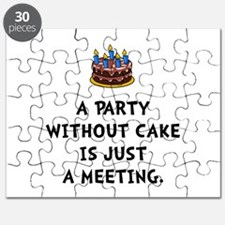 Cake Meeting Puzzle