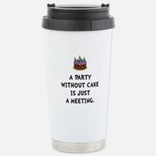 Cake Meeting Travel Mug
