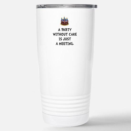 Cake Meeting Travel Mug