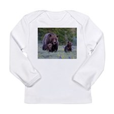 MAMMA GRIZZLY and CUBS Long Sleeve T-Shirt