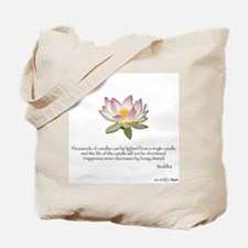 Thousands of Candles Tote Bag
