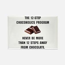 Chocoholics Program Rectangle Magnet (10 pack)