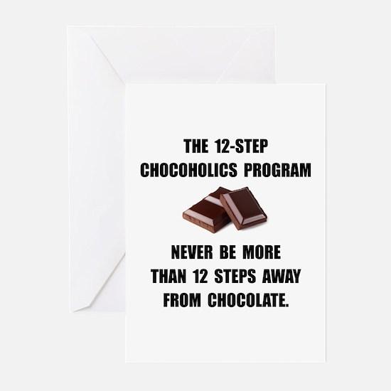 Chocoholics Program Greeting Cards (Pk of 20)