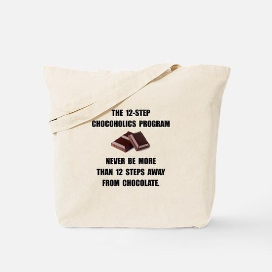 Chocoholics Program Tote Bag